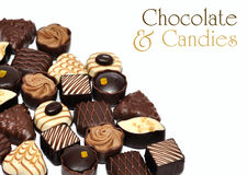 Hand made chocolate Royalty Free Stock Photos