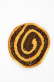 Hand Made Chocolate Swirl Cookie Royalty Free Stock Photography