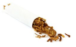 Hand made cigarette Royalty Free Stock Images