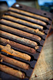 Hand Made Cigars Royalty Free Stock Photos