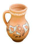 Hand-made clay jug Royalty Free Stock Photos