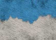 Hand made Colored Paper Texture with paint. Hand made Colored Paper Texture with blue paint Stock Photo