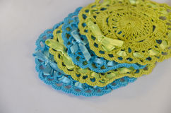 Hand made crochet. Royalty Free Stock Image