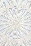 Hand made crocheted doily Royalty Free Stock Image