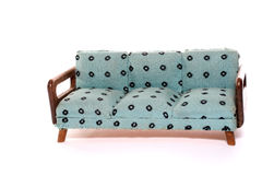 Hand made doll couch stock images