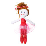 Hand made doll for girls Stock Image