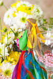 Hand made doll of summer Stock Photo