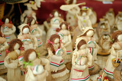 Hand made dolls Stock Photography