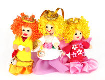 Hand made dolls Royalty Free Stock Image
