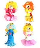 Hand made dolls Royalty Free Stock Photo
