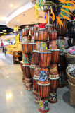 Hand made drums Kuta, Bali Royalty Free Stock Photography