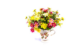 Hand made flowers Royalty Free Stock Photography