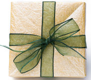 Hand-made gift box Stock Photo