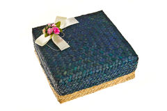 Hand made gift box Royalty Free Stock Photography