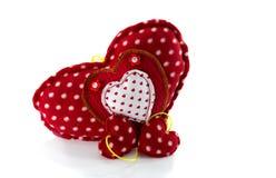 Hand made hart shape Royalty Free Stock Image