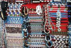 Seashell bracelets chaweng beach samui Royalty Free Stock Image