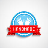 Hand Made Label Royalty Free Stock Image