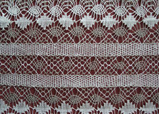 Hand made lace Royalty Free Stock Image