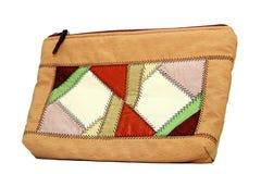 Hand made lady purse Stock Photos
