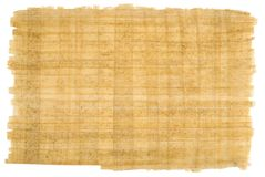 Hand made organic bamboo paper. Royalty Free Stock Images