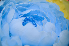Hand-made paper peonies Royalty Free Stock Photography