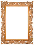 Hand-made picture frame. Empty picture frame for putting your pictures in Stock Photo