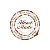 Hand made quality stamp Royalty Free Stock Image