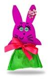 Hand made rabbit Royalty Free Stock Photos