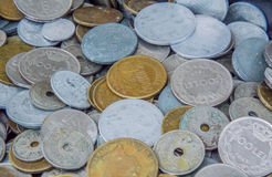 Collection of coins Stock Photography