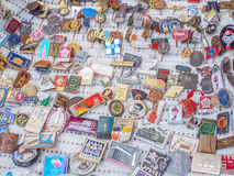 Medal collection Royalty Free Stock Photography