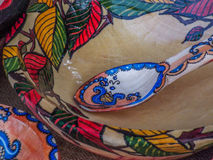 Romanian traditional pottery clay Royalty Free Stock Images