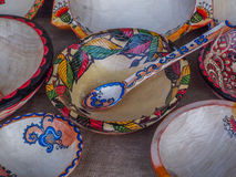 Romanian traditional pottery clay Stock Images