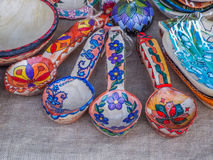Romanian traditional pottery clay  Stock Image