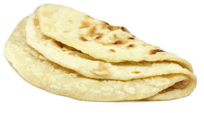 Hand made roti bread Royalty Free Stock Photos