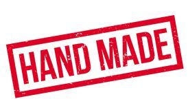 Hand Made rubber stamp Royalty Free Stock Photography