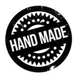 Hand Made rubber stamp Stock Photo