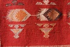 Hand made rug Stock Photo
