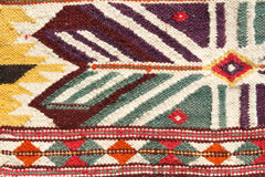 Hand made rug Stock Photos