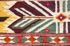 Hand made rug. In the bazaar Stock Photos