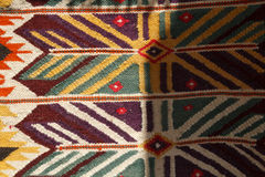 Hand made rug Stock Photo