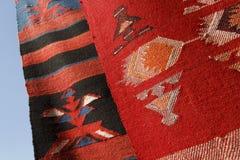 Hand made rug Stock Photos
