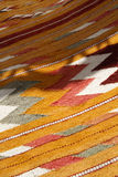 Hand made rug Stock Images