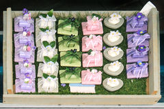 Hand made soap Stock Photos