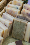 Hand made soap Stock Image