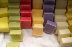 Hand Made Soaps Stock Photography