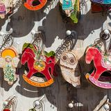 Hand made souvenirs from Poland. Stock Photos