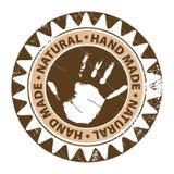 Hand made stamp Stock Photo