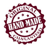 Hand made stamp Stock Photo