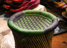 Hand made stool Stock Image
