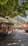Hand made street market Royalty Free Stock Images